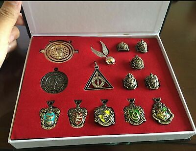 Harry Potter rings necklace decorate cosplay game 14pcs set Xmas Gift
