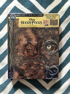 Hocus Pocus (Blu-ray/DVD, 2012, 2-Disc Set) Steelbook Disney Best Buy