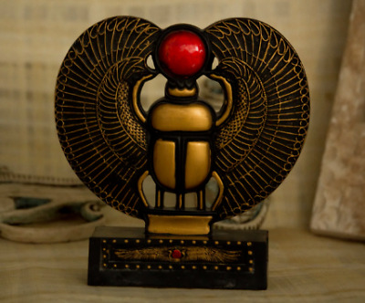 NEW* Scarab Beetle Sculpture| PREMIUM QUALITY| Handmade Ancient Egyptian Scarab