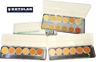 TAVOLOZZA KRYOLAN DERMACOLOR CAMOUFLAGE CREME palette trucco make-up correttore