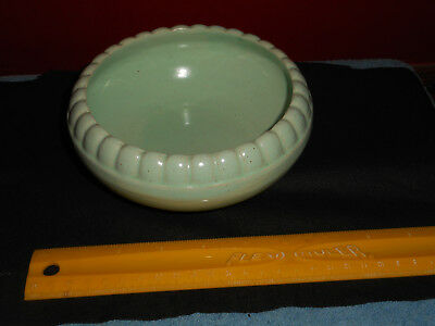 Early BRUSH McCOY 290 Pottery Bowl Planter MINT GREEN Brush USA Art Pottery