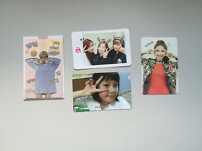 Twice -  The Story Begins, Twicecoaster Official Photocards Korean Press KPOP