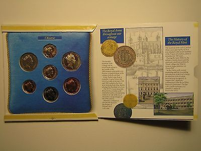 United Kingdom Uncirculated Coin Collection British Royal Mint 1988
