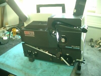 Elmo 16Cl 16Mm 250 Watt Xenon Mag/opt Projector Complete (Serviced & Guaranteed)