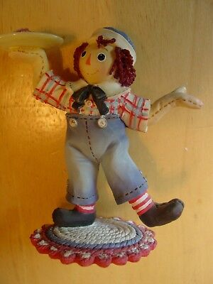 "RAGGEDY ANN & ANDY ""A Tasty Treat for a Friend So Sweet ~ Simon Schuster Enesco"