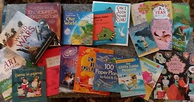 Brand New Usborne Book Lot