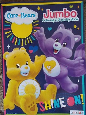Care Bears Jumbo Coloring & Activity Book, Shine On! 96 Pages w