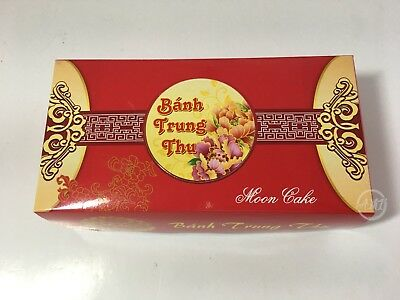 """Moon Cake Paper Boxes Container Rectangle 8 3/4""""x 4.5"""" x 2.5"""" Hop Banh TrungThu"""