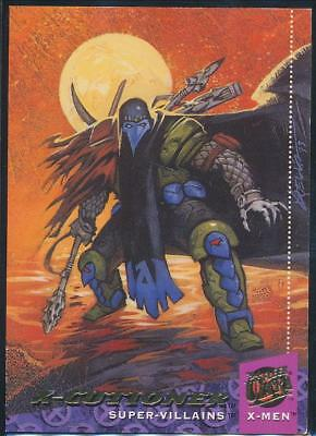1994 X-Men Ultra Trading Card #69 X-Cutioner