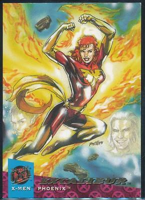 1994 X-Men Ultra Trading Card #123 Phoenix