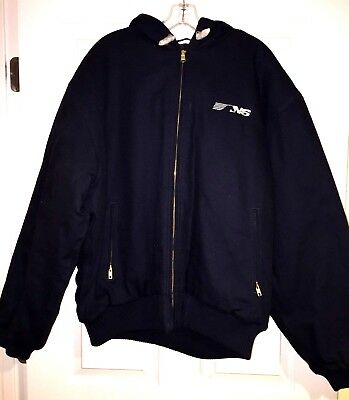 XL Tri-Mountain Carhart type NS winter jacket New with tags Railroad trains