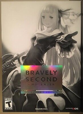 Bravely Second: End Layer - Collector's Edition - Brand New/Sealed