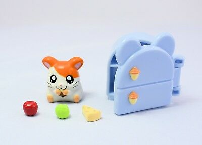 Vintage Rare Hamtaro Figure & All Accessories Complete set EPOCH Japan Original