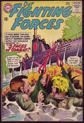 Our Fighting Forces #86 Art by Joe Kubert F 6.0