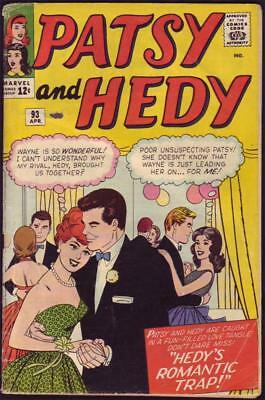 Patsy And Hedy #93 Art by Al Hartley GVG 3.0