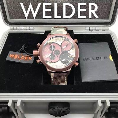 WELDER Welder analog camouflage watch from japan (3630