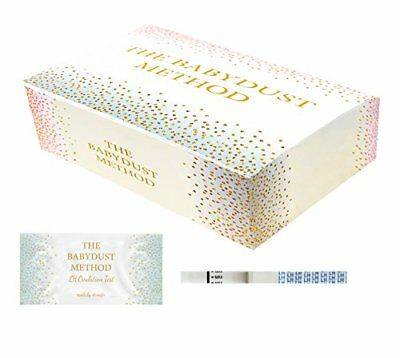 Wondfo Extra Wide Tests - by The Babydust Method - 100 LH Ovulation Test Strips