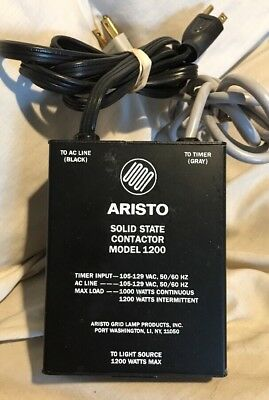 Aristo Grid Lamp Solid State Contactor Model 1200 for Dark Room Photo Printing