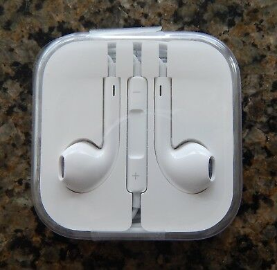 Authentic OEM Apple Earpods W/ Mic For iPhone 6S 6 Plus 5SE 5C 5 & Universal