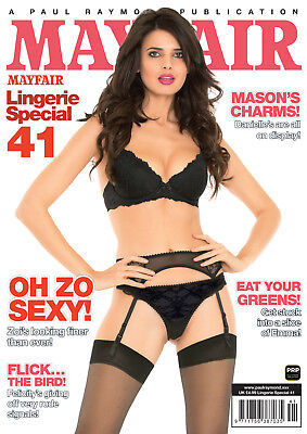 Men's Magazine ~ Mason'd Charms MF Lingerie 41
