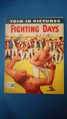 Told In Pictures Thriller Comics Library 140 Fighting Days Creek High Grade!