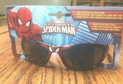 d6ad4bfa0c Boys Kids MARVEL Spiderman Spider-man Sunglasses 100% UVA And UVB Protection  2