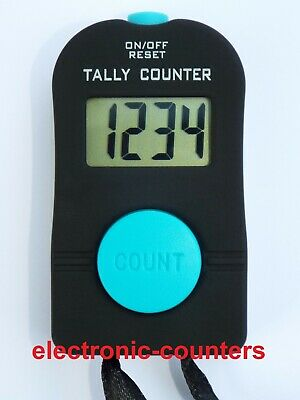 Digital hand tally counter - EC2 add only clicker (events / doorman / security)