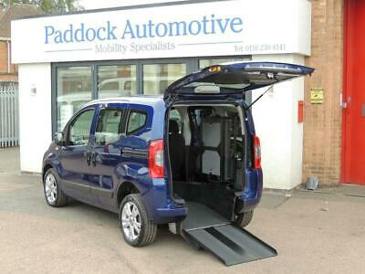 Fiat Qubo 1.4 MyLife Wheelchair Up Front Auto Wheelchair Adapted Vehicle WAV