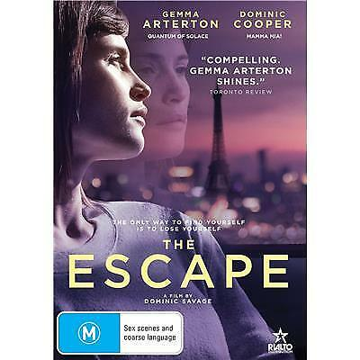 The Escape Dvd, New & Sealed, 2018 Release, Free Post