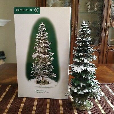 Dept 56 Village Accessories Pequot Pine Tree X-Large Forest Christmas