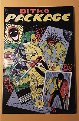 DITKO PACKAGE Jan. 1989, first printing, FN-VF, SIGNED by Ditko