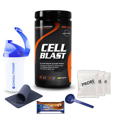 65,20€/kg SRS Muscle Cell Blast All-In-One Creatine Glutamine 800g Dose +Bonus