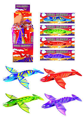 DINOSAUR FLYING GLIDERS Plane Jet Planes Party Bag Fillers Loot Bags DINO