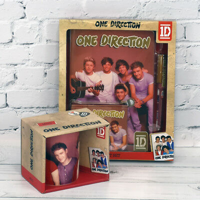 One Direction Mug and Stationery Set, Special Offer Clearance One Direction Set