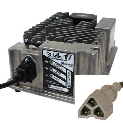 EZGO Golf Cart Battery Charger 48 Volt Lester Electric  EZ-GO Golf Cart