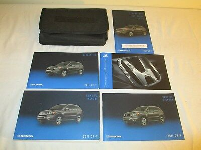 2011 Honda CR-V 5 Owner's Booklets with holder - excellent condition