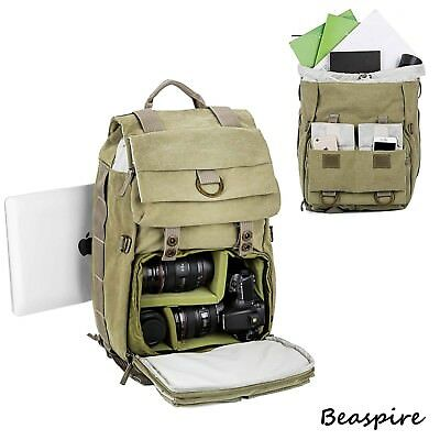 Beaspire 14-inch Laptop Camera Backpack Professional Hiking and Travel Bag