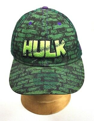 check out a428e 26e9c Hulk Marvel Avengers New Era Wordmark Hero Name Logo 9Fifty Size 7-1 2