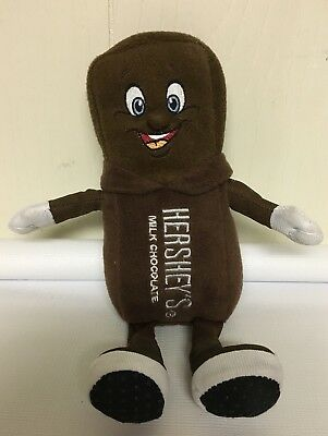 Hershey Milk Chocolate Plush Candy Bar World Park Sweet Brown Man Souvenir PA