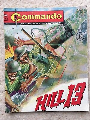 Commando Comic #23 - Hill 13 - 1962