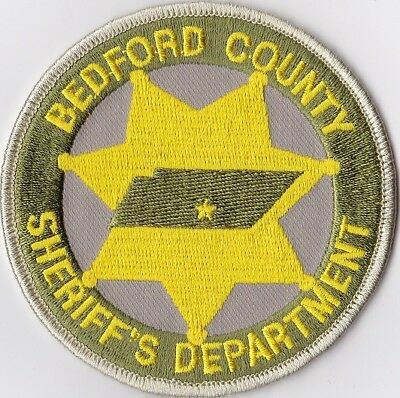 Bedford County Sheriff's Dept. Police Patch Tennessee TN