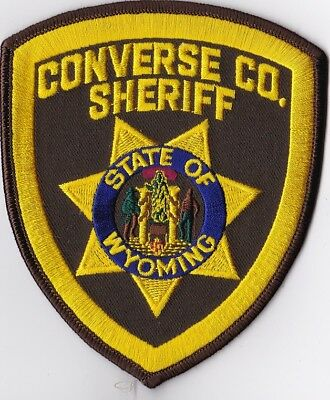 Converse CO. Sheriff Wyoming WY Police Patch