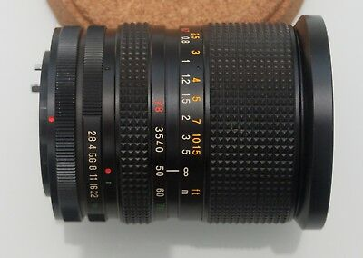 Canon FD compatible Promaster 28-70mm F/2.8 Zoom Lens