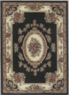 """1:48 Scale Dollhouse Area Rug 0000650 - approximately 2"""" x 2-3/4"""""""