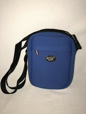 Avent Naturally Blue Insulated Baby Formula Milk Travel Shoulder ThermaBag