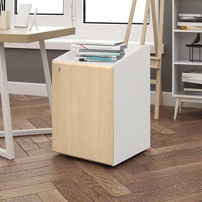 DEVAISE 2-Drawer Mobile file Cabinet with Lock ,Office Furniture,Beside table
