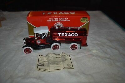 Texaco Special Edition 1/25 Scale 21st In Series 1918 Ford Runabout with tanker