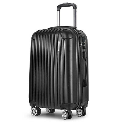 "Wanderlite 20"" Luggage Suitcase Trolley Travel Hard Case Lightweight"