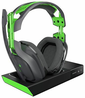 Astro A50 Wireless 7.1 Green Gaming Headset for Xbox One.
