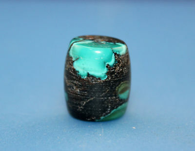 17*15 mm Antique Undressed dzi turquoise old Bead from Tibet **Free shipping**
